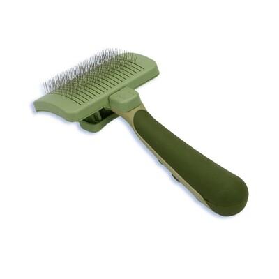 Safari Dog Self-Cleaning Slicker Brush Large