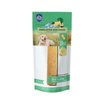 Himalayan Dog Chew Peanut Butter <35lbs