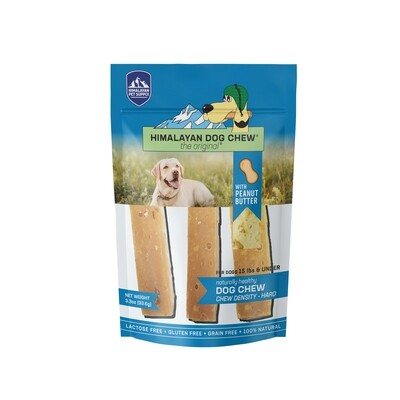 Himalayan Dog Chew Peanut Butter <15lbs