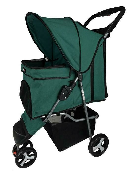 Dogline 3 Wheel Stroller Teal
