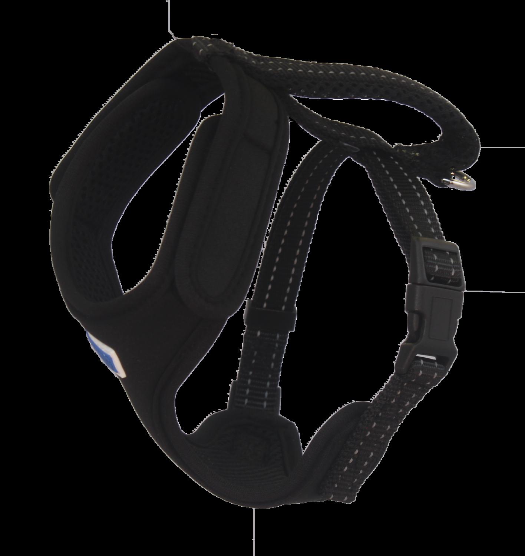 BAYDOG Cape Cod Harness Med Black