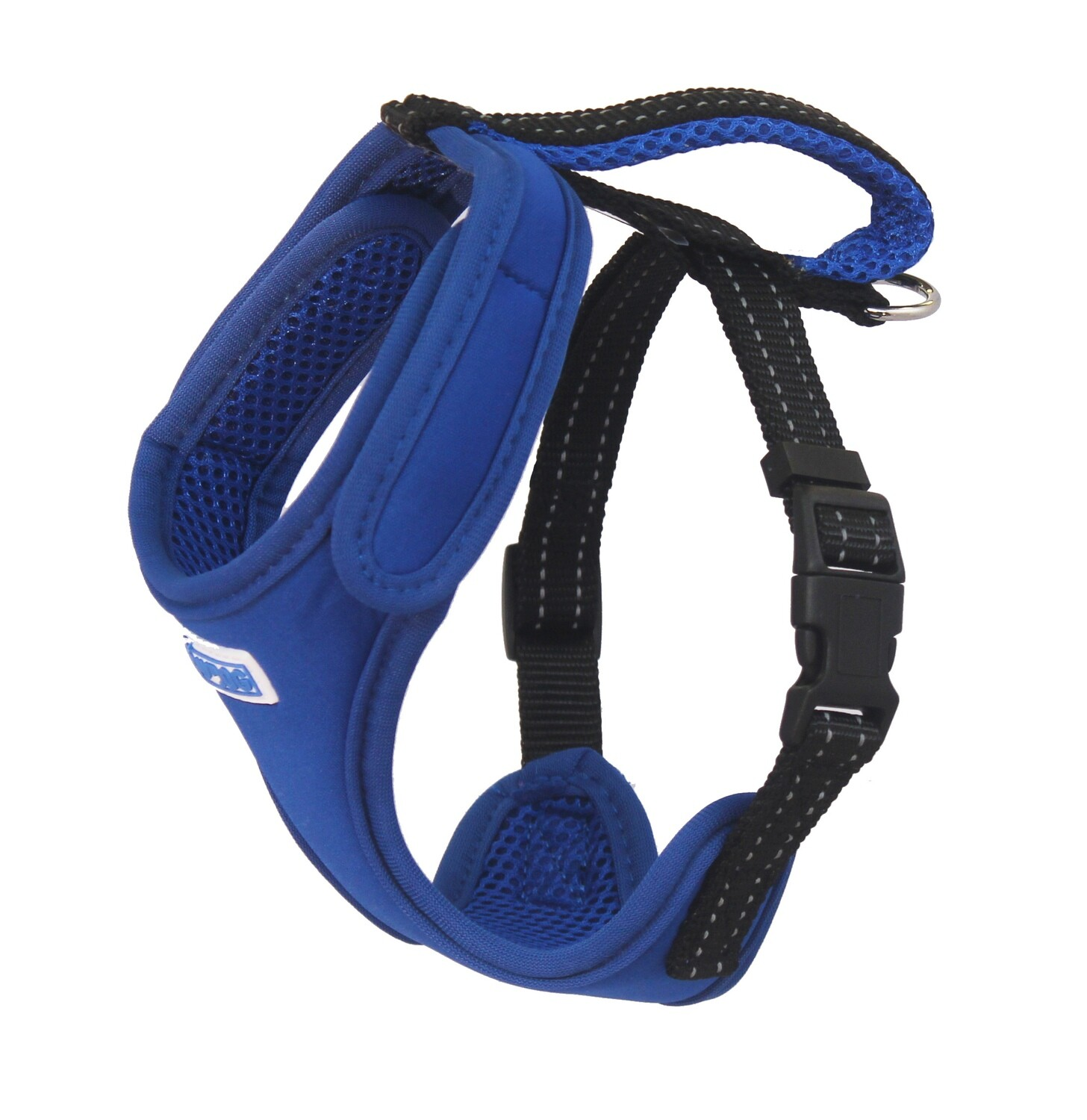 BAYDOG Cape Cod Harness Med Blue