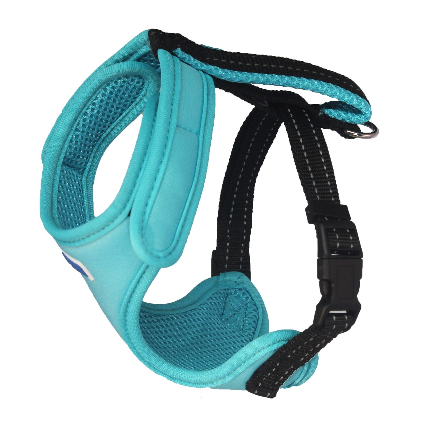 BAYDOG Cape Cod Harness Teal Med