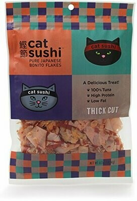 Cat Sushi Bonito Flakes Thick Cut .7oz