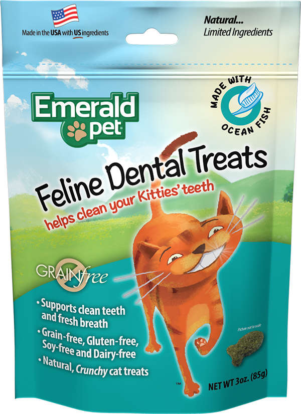Emerald Pet Cat Ocean Fish Treats 3oz