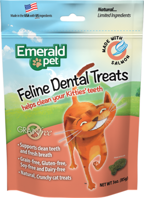Emerald Pet Cat Salmon Treats 3oz