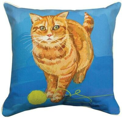Strider The Orange Cat Pillow