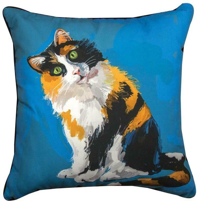 Calico Cat Pillow