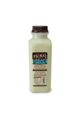 Primal Raw Goat Milk 16oz