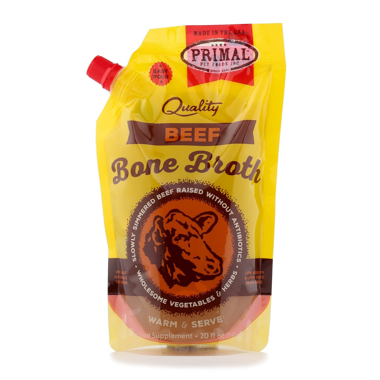 Primal Bone Broth 20oz Beef