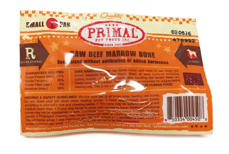 Primal Dog Frozen Beef Bone Single Small
