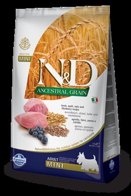Farmina Dog Ancestral Grain Adult Mini Lamb 15.4lb