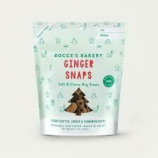 Bocce's Bakery Seasonal Treats Ginger Snaps