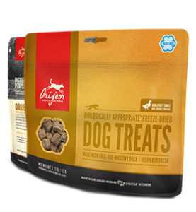 Orijen Freeze Dried Dog Treats 3.25oz Duck