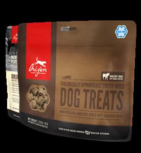 Orijen Freeze Dried Dog Treats 3.25oz Beef