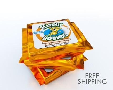 Heavenly Hounds Peanut Butter Relaxation Square 2oz