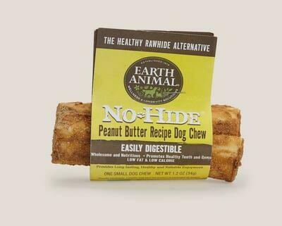 Earth Animal No Hide Chew Peanut Butter Small