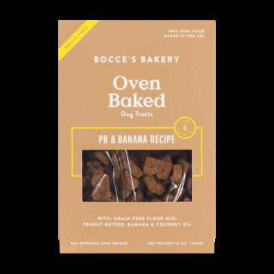 Bocce's Bakery Grain-Free Basics PB & Banana
