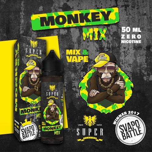 Super Flavor - Monkey Mix By SVAPO BATTLE Mix&Vape 50ml