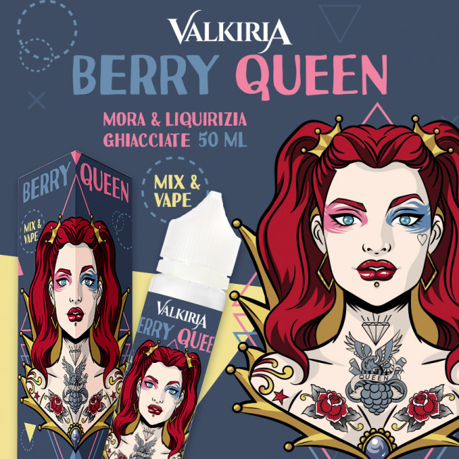 Valkiria - Berry Queen Mix&Vape 50ml