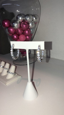 Eternity Band Earrings