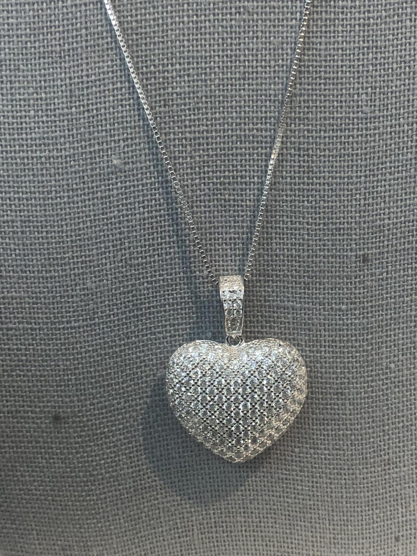 Medium Heart Necklace