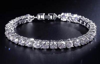 Sterling Sliver Tennis Bracelet