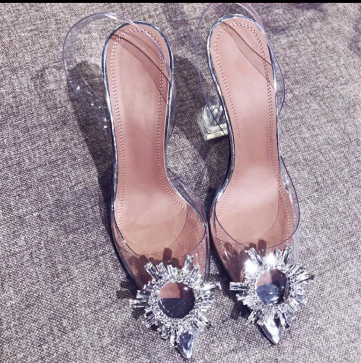 Glass Slipper Sandals