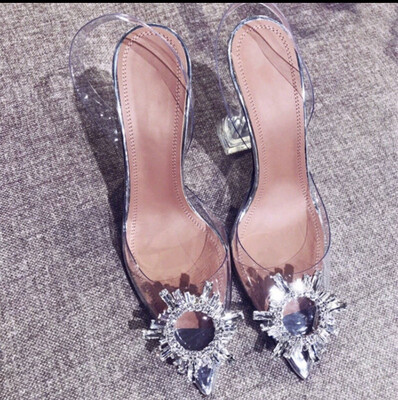 Glass Slipper Sandals