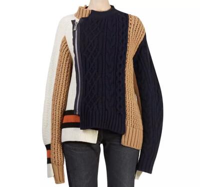 Layered Long Sleeve Sweater