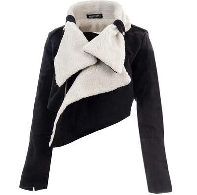 Black Suede Sterling Jacket
