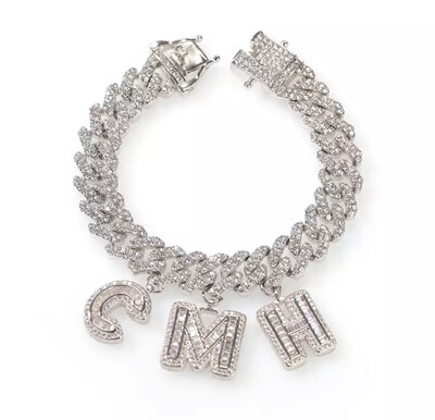 Cuban Link Name Bracelet
