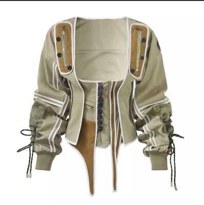 Military Corset Jacket