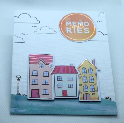 House warming card - Create Memories