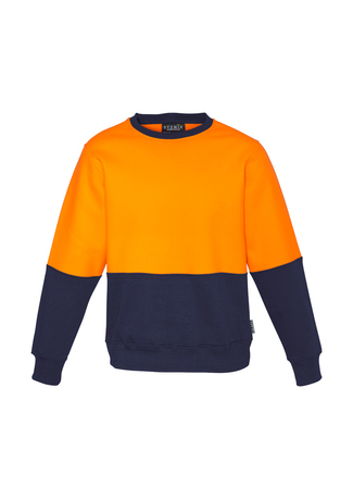 ZT465 Unisex Hi Vis Crew Sweatshirt 9401042316370