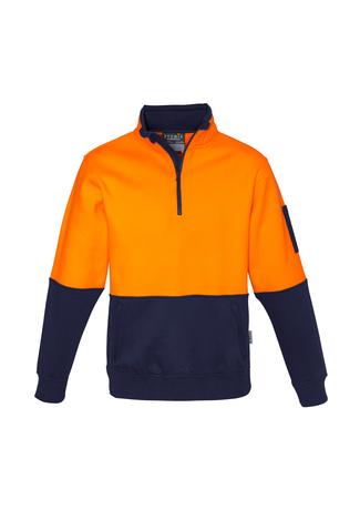 ZT466 Unisex Hi Vis Half Zip Pullover 9401042316530