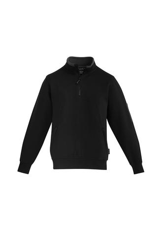 ZT366 Mens 1/4 Zip Brushed Fleece 00078