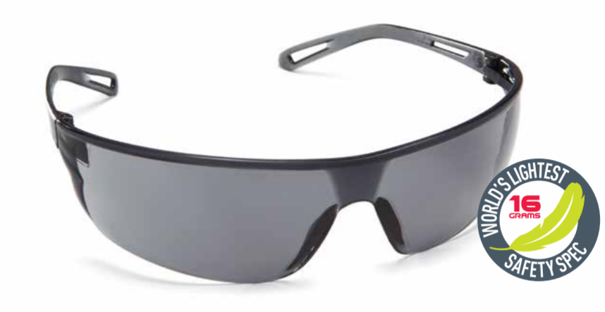 Force360 Air Smoke Lens Safety Spectacle (EFPR801) 00093