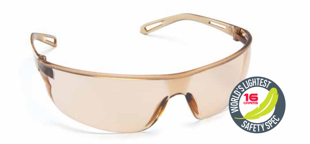 Force360 Air Light Brown Lens Safety Spectacle (EFPR802) 00094