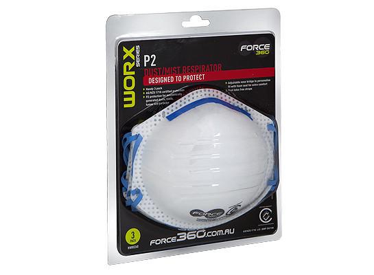 RARX260 Force360 P2 Disposable Respirator 00130