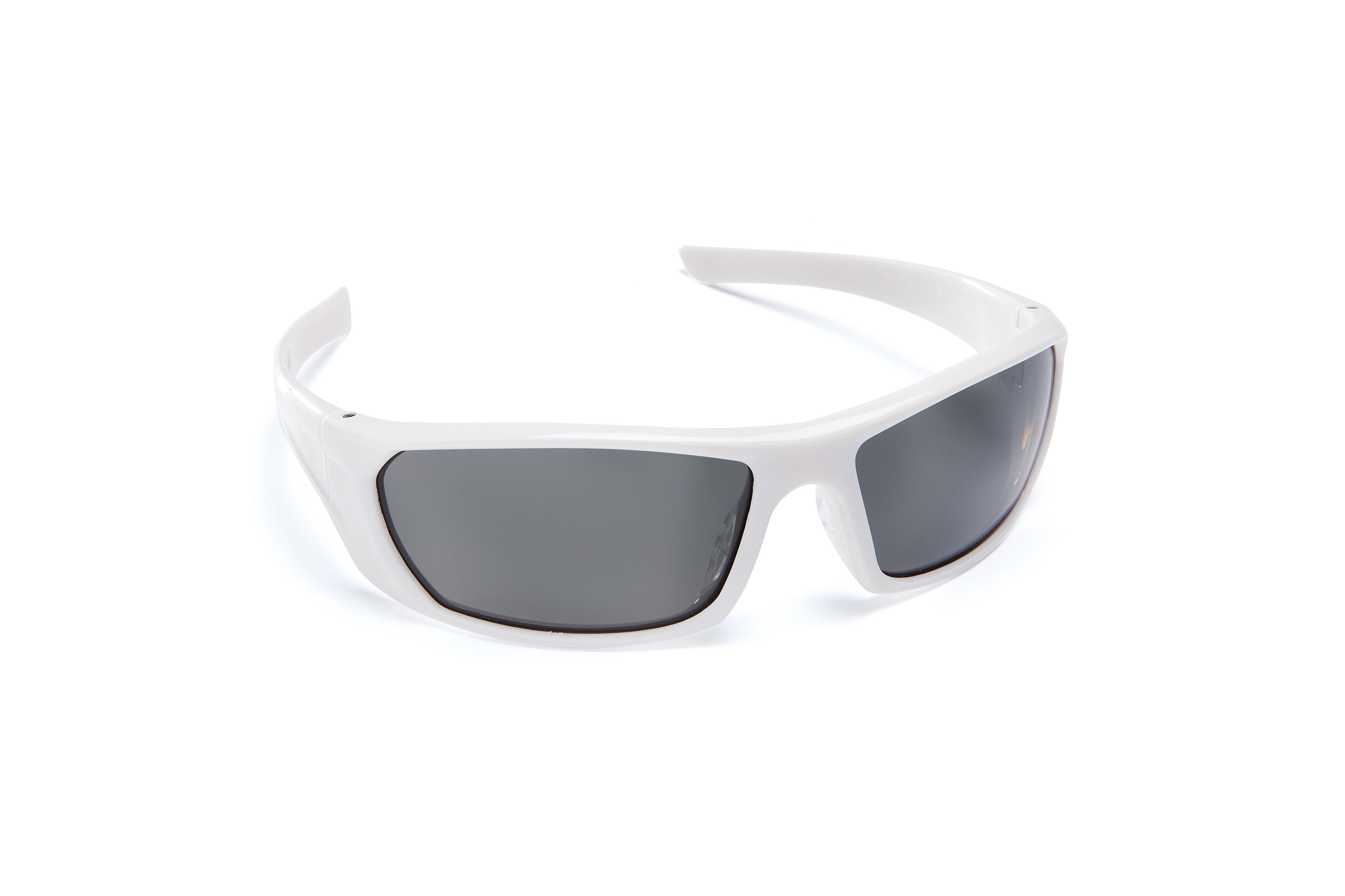 Force360 Mirage Smoke Polarised Lens Spectacles White Frame (EFPR901) 00099