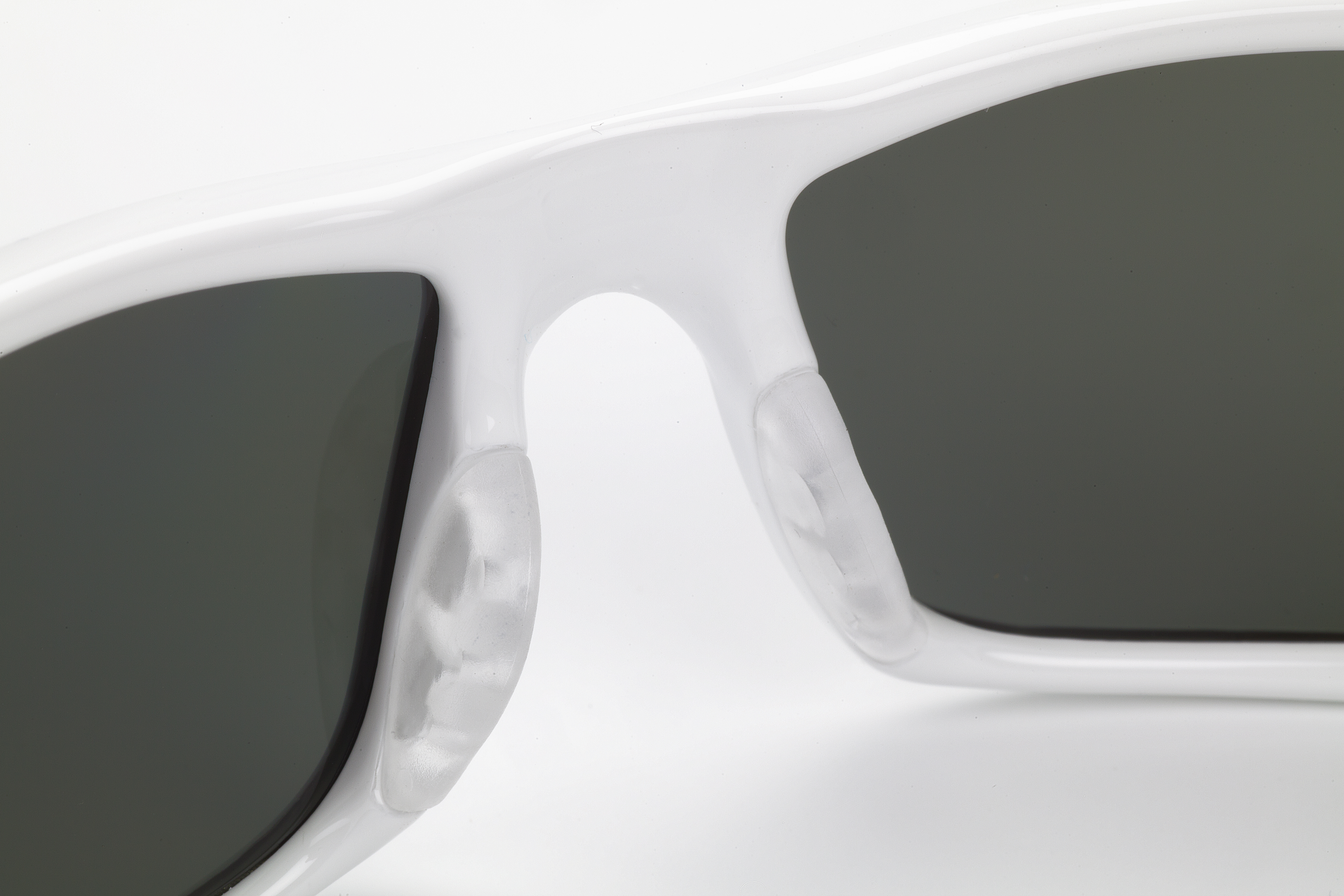 Force360 Mirage Smoke Polarised Lens Spectacles White Frame (EFPR901)
