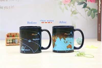 Чашка с планетами
