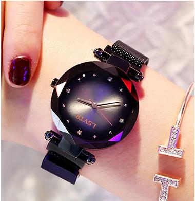 ж.часы черно-красные