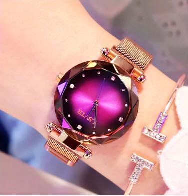 ж.часы фиолетовые