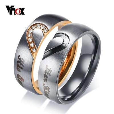 Vnox обручальные кольца