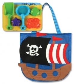 0c77fc2850 Stephen Joseph SJ.10.080 Τσάντα θαλάσσης με παιχνίδια Πειρατής