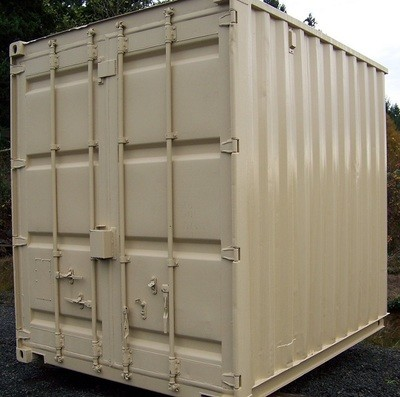 10ft New One Trip Shipping Container/Connex. Color may vary. CALL FOR PRICING!!!