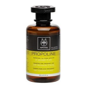 image of PROPOLINE σαμπουάν για συχνό λούσιμο με χαμομήλι και μέλι