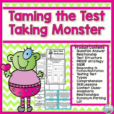 Study Skills Tool Kit for Reading Comprehension